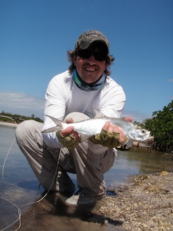 Brad and Tarpon